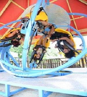Gyroscope at Kool Runnings Water Park