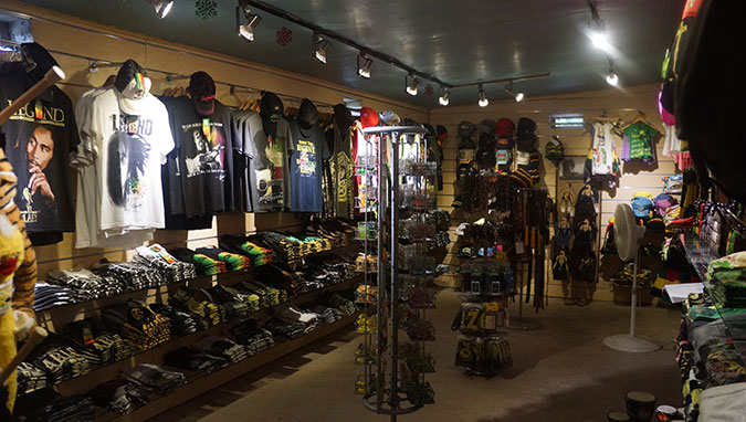 Bob Marley Gift Shop
